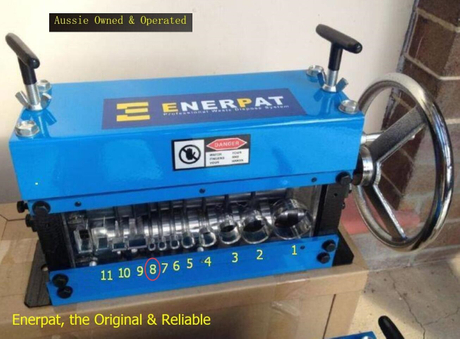 Enerpat® Wire Stripper, Cable Stripping Machine, Crank Wheel+Drill