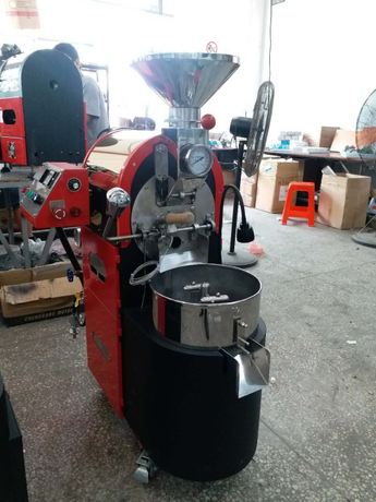 2kg LPG Coffee Bean DRUM* Roaster, Roasting Machine,Floor Stand Castor Wheels